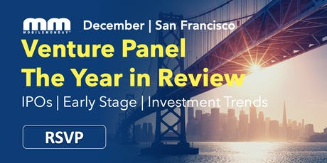 Venture Panel - The Year in Review tickets
