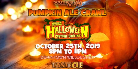 Pumpkin Ale Halloween Costume Crawl Willoughby 2019 tickets