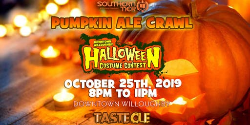 Pumpkin Ale Halloween Costume Crawl Willoughby 2019