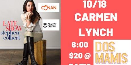 Carmen Lynch (Colbert, Conan, America's Got Talent) tickets