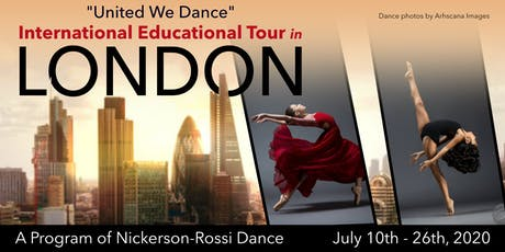 NEW YORK AUDITION | International Educational Tour in London tickets