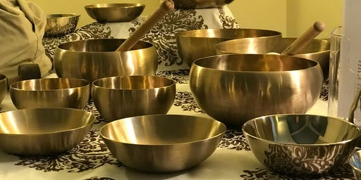 WellsviewCARE presents: Himalayan Singing Bowls - Meditative Sound Bath w/ GTOS