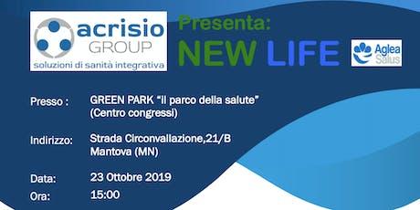 Presentazione ACRISIO Group progetto NEWLIFE di MUTUA AGLEA SALUS - Mantova biglietti