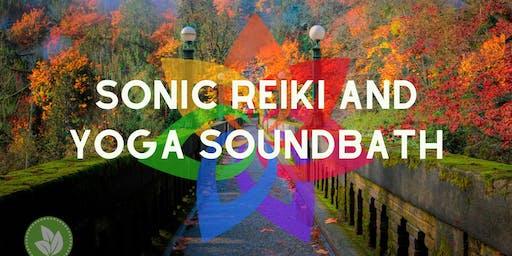 Sonic Reiki and Yoga Sound Bath