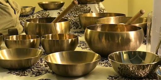 WellsviewCARE presents: Himalayan Singing Bowls - Meditative Sound Bath w/ GTOS