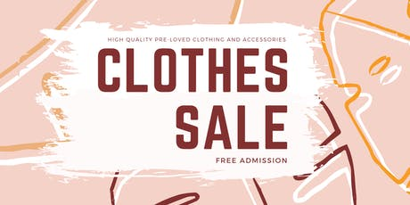 Pre-Loved Clothes Sale! tickets