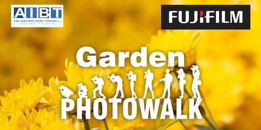 FUJIFILM GARDEN PHOTOWALK