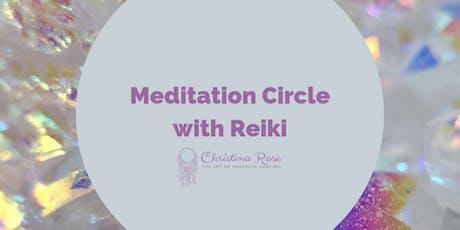 Meditation Circle with Reiki tickets