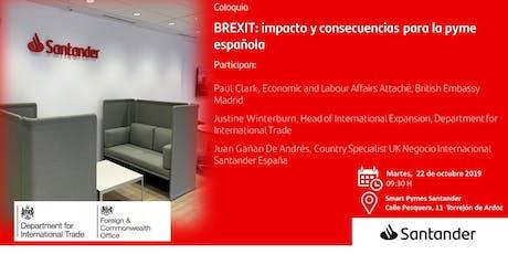 BREXIT: impacto y consecuencias para la pyme española entradas