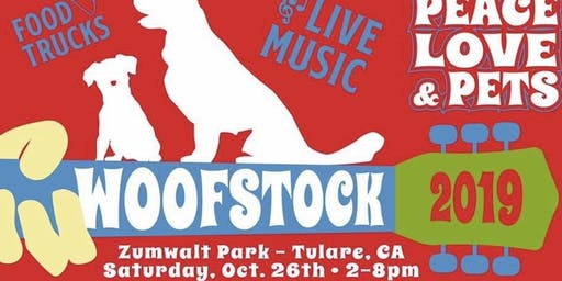 Woofstock. A pet adoption event with live music and food trucks.