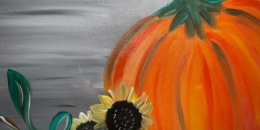Harvest Pumpkin Paint Class