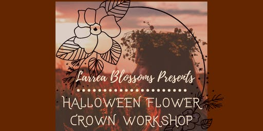 Halloween Flower Crown Workshop