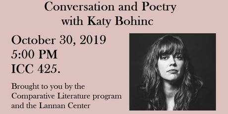 Occult Paths: Conversation and Poetry with Katy Bohinc tickets