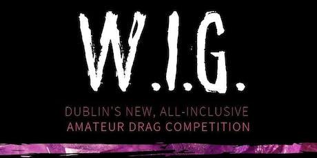W.I.G. #2 @ WORKMANS - Tuesday 12th November tickets