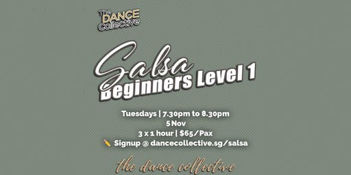 Salsa Level 1 for Beginners (Latin Street Social Dance Course)