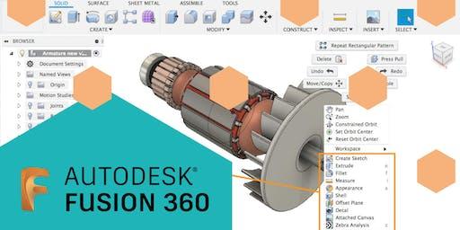 Grundkurs - Corso di base | CAD - Autodesk Fusion 360