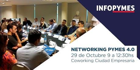 Desayuno de Trabajo / Networking:  PYMES  + EMPRENDEDORES 4.0 entradas