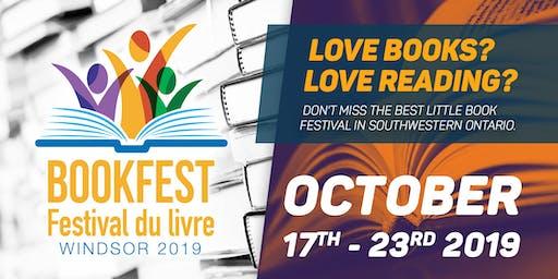 BookFest / Festival du livre Windsor 2019