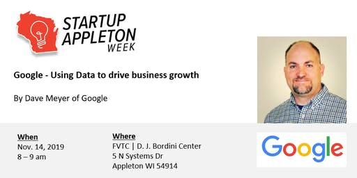 Google - Using Data to drive business growth