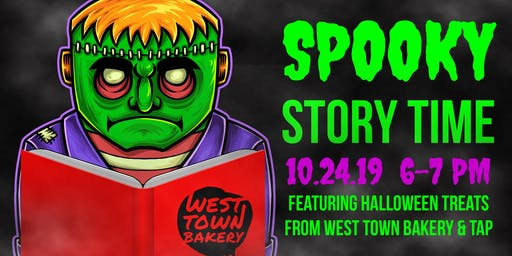Spooky Story Time at West Town Bakery