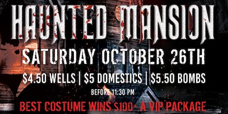 XO Nightlife presents Nightmare on Oullette Street: Haunted Mansion tickets