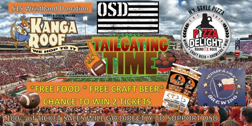 Pizza Delight and OSD's Veteran's Day Tailgate Fundraiser
