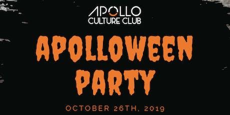 Apolloween 2019 tickets