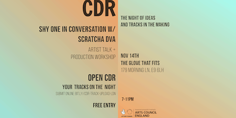 CDR - Shy One in conversation with Scratcha DVA tickets