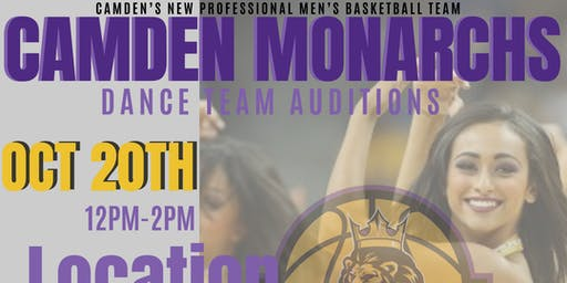 Camden Monarchs Dance Team Auditions