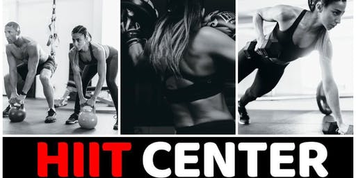 Weekly Workout 10/23 -- HIIT Center