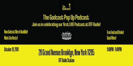 The Godcast Pop Up Podcast! tickets