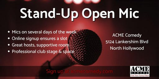 Just Another Open Mic