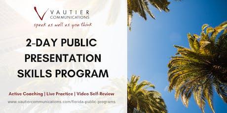 Tampa Public Presentation Skills Workshop - February 12-13, 2020 tickets