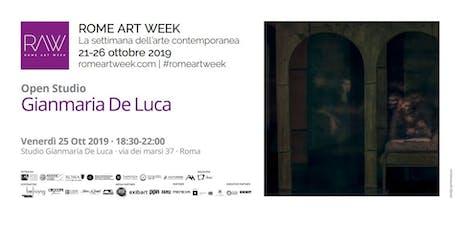 Open Studio: Gianmaria De Luca | Rome Art Week 2019 biglietti
