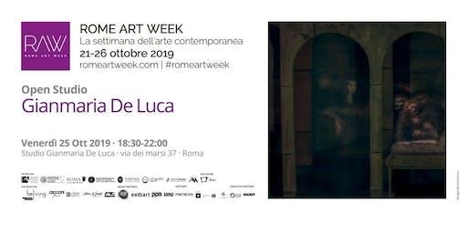 Open Studio: Gianmaria De Luca | Rome Art Week 2019