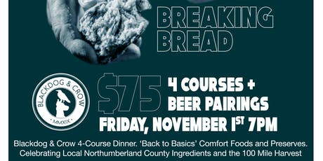 Breaking Bread - Pop Up Beer Dinner tickets