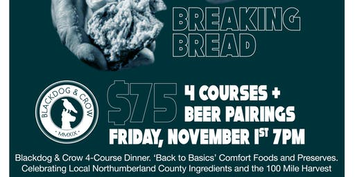 Breaking Bread - Pop Up Beer Dinner
