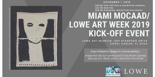 Miami MoCAAD/Lowe Museum Art Week Basel Kickoff