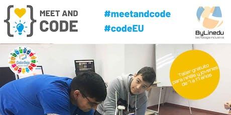 ODSbylinedu: #CodeEU #MeetandCode entradas