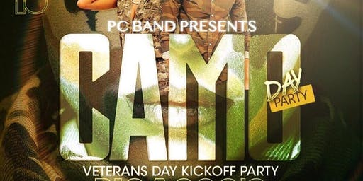 The Camo Day Party...Hosted By PC Band