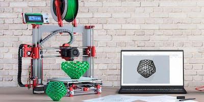 Clínica de introducción a la impresión y modelado 3D