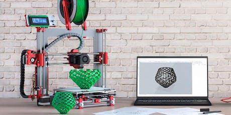 Clínica de introducción a la impresión y modelado 3D boletos