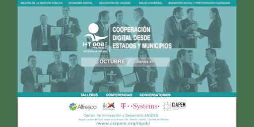 9a Entrega de Premios I+TGob Cooperación Digital desde Estados y Municipios