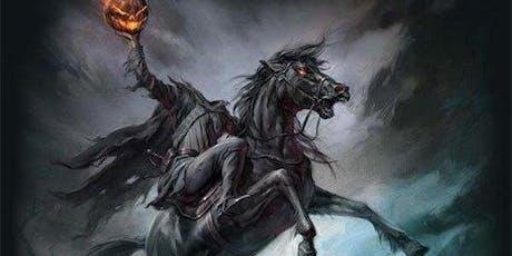 Headless Horseman Halloween Horseback Trail Ride and Bonfire tickets