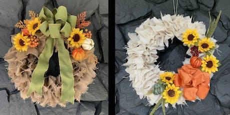 Fall Wreath Fun Night Out! tickets