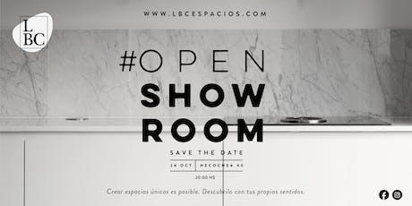 LBC Espacios | OPEN SHOW ROOM entradas