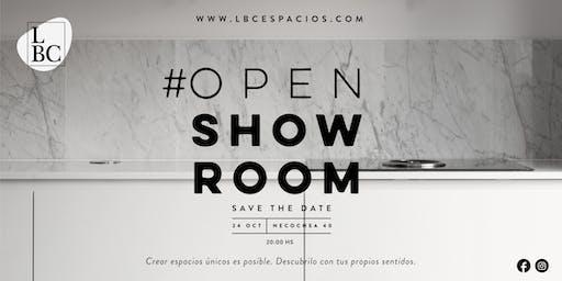 LBC Espacios | OPEN SHOW ROOM
