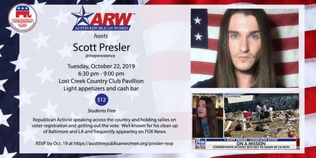 Scott Presler Training with Raphael Cruz tickets