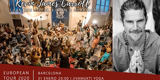 Aforo COMPLETO / BARCELONA / Kirtan y Circulo de Canto con Kevin James