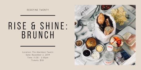 Rise and Shine Brunch w/ Redefine Twenty tickets